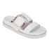 Senso Women's Kada Leather Double Strap Sandals - Ice: Image 5