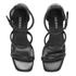 Senso Women's Robbie IV Leather Barely There Heeled Sandals - Ebony: Image 2