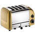 Dualit 47452 Classic Vario 4 Slot Toaster - Brass: Image 1
