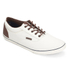 Jack & Jones Men's Vision Mix Canvas Pumps - Marshmallow: Image 2