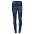 Vero Moda Women's Seven Slim Eye Jeans - Dark Blue Denim: Image 2