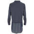 Vero Moda Women's Lotus Long Sleeve Long Shirt - Ombre Blue: Image 2