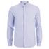 A.P.C. Men's Button Down Shirt - Blue: Image 1