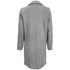 Y.A.S. Women's Monday Coat - Light Grey Melange: Image 2