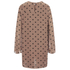 Ganni Women's Polka Dot Dress - Nougat Polka: Image 2