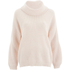 Selected Femme Women's Olinea Rollneck Knitted Pullover - Silver Peony: Image 1