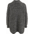 Selected Femme Women's Erica Knitted Pullover - Dark Grey Melange: Image 2