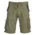 Brave Soul Men's George Cargo Shorts - Khaki: Image 1