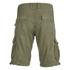 Brave Soul Men's George Cargo Shorts - Khaki: Image 2