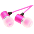 Kitsound Ace Earphones with Mic - Pink: Image 2