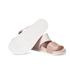 Melissa Women's Cosmic 15 Double Strap Slide Sandals - Nude: Image 6