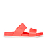 Melissa Women's Cosmic 15 Double Strap Slide Sandals - Coral: Image 1