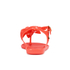 Melissa Women's Solar Hawai Sandals - Coral Pop: Image 3