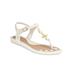 Vivienne Westwood For Melissa Women's Solar 21 Toe Post Sandals - White Contrast: Image 5