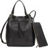 Furla Women's Stacy Drawstring Bucket Bag - Black: Image 2