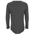 Cheap Monday Men's Foresee Long Sleeve T-Shirt - Black/Grey: Image 2