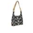 Orla Kiely Women's Stem Leather Midi Sling Bag - Black: Image 2
