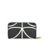 Orla Kiely Women's Stem Big Zip Wallet - Black: Image 2