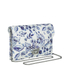Loeffler Randall Women's Lock Clutch Bag - Porcelain Print: Image 2
