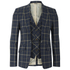 Vivienne Westwood MAN Men's Tea Wool Tartan Waiscoat Jacket - Navy: Image 1