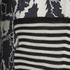 rag & bone Women's Anita Dress - Black/White: Image 5