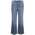 Marc by Marc Jacobs Women's Wide Leg Denim Trousers - Crop Blue: Image 1