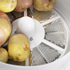 Elgento E010 Potato Peeler and Salad Spinner - White: Image 2