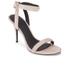 Alexander Wang Women's Antonia Suede Heeled Sandals - Blush: Image 2