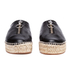 Alexander Wang Women's Devon Leather Espadrilles - Black: Image 4