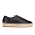 Alexander Wang Women's Devon Leather Espadrilles - Black: Image 1