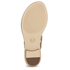 MICHAEL MICHAEL KORS Women's MK Plate Thong Flat Sandals - Luggage: Image 7