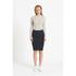 Samsoe & Samsoe Women's Judah Skirt - Eclipse Blue: Image 2