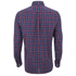 GANT Men's Tiebreak Twill Check Shirt - Mahogany Red: Image 2