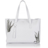 meli melo Womens Kiki Aloe Print Tote Bag - White: Image 1