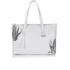 meli melo Womens Kiki Aloe Print Tote Bag - White: Image 3