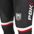 PBK Santini Replica Team Bib Tights - Red/White/Black