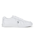 Polo Ralph Lauren Men's Hugh Leather Trainers - White: Image 1