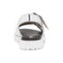 Opening Ceremony Women's Mirror Leather Double Strap Sandals - Silver: Image 3