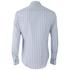 Vivienne Westwood MAN Men's Classic Stretch Stripe Long Sleeve Shirt - Blue Stripe: Image 2