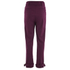 Lavish Alice Women's D-Ring Belt and Cuff Tapered Leg Trousers - Aubergine: Image 3