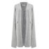 Lavish Alice Women's Felt Cape Coat - Grey: Image 1