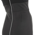 Lavish Alice Women's Mesh Overlay Bodycon Midi Dress - Black: Image 4