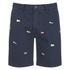 Polo Ralph Lauren Men's Hudson Patterned Slim Shorts - Navy: Image 1
