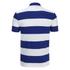 Polo Ralph Lauren Men's Short Sleeve Slim Fit Striped Polo Shirt - Royal/White: Image 2