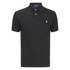 Polo Ralph Lauren Men's Short Sleeve Slim Fit Polo Shirt - Black: Image 1