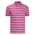 Polo Ralph Lauren Men's Short Sleeve Slim Fit Striped Polo Shirt - Madison Pink: Image 1