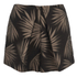 Finders Keepers Women's Sound Resound Shorts - Black Palm: Image 1