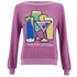 Wildfox Women's Brunch Time For Another Sweatshirt - Lavender Dream: Image 1