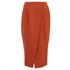 Finders Keepers Women's Sweet Talker Skirt - Terracotta: Image 1