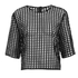 Finders Keepers Women's New Line Top - Lattice Black: Image 1